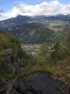 View from Reichenbach Falls
