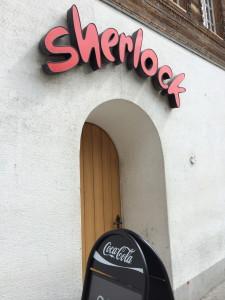 Sherlock pub in Meiringen