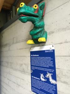 Der Tatzelwurm at Aare Gorge