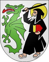 St Beatus and Dragon