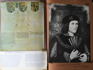Rous Roll and portrait of Richard III