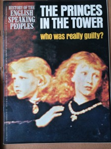 Magazine cover: 'The Princes in the Tower'