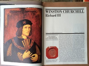 Winston Churchill on Richard III