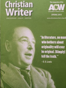 C S Lewis article in 'Christian Writer' magazine