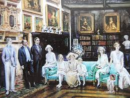 Lygon family at Madresfield Court
