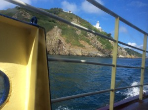 Arriving on Sark