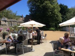 Seigneurie gardens cafe