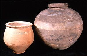 Roman pots in the Ashmolean