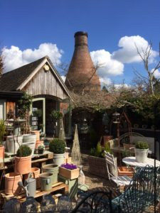 Bottle Kiln and garden