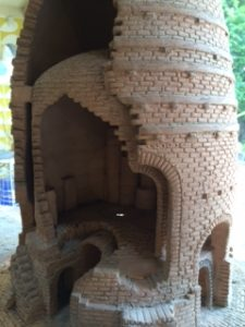 Model of bottle kiln