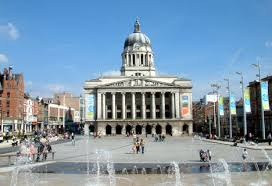 Nottingham Council House and Market Square