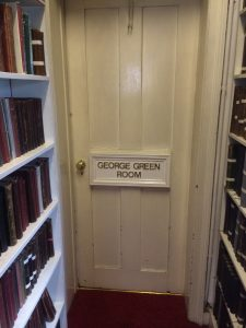 Door of George Green Room