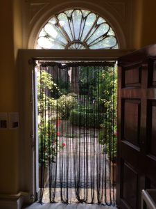 Doorway to garden